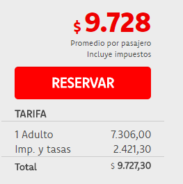 Precios vuelos Buenos Aires Panamá entre Abril y Junio de 2017 por Transatlántica