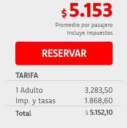 Precios vuelos Buenos Aires San Pablo entre Marzo y Julio de 2017 con Transatlántica